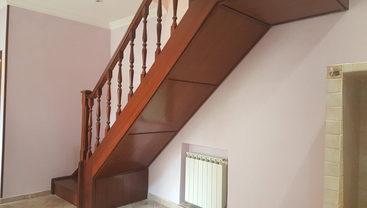 scala in legno pregiato